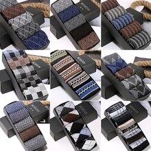 5 paires automne hiver épais haute densité chaud lapin laine chaussettes hommes mode Multi motif grande taille qualité doux chaussette homme Meia