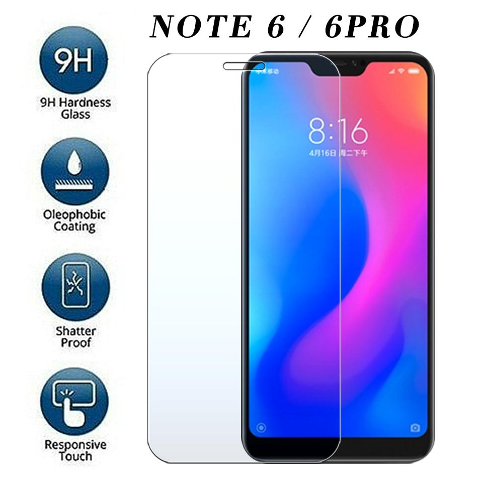 Закаленное защитное стекло для xiaomi redmi note 6 pro на ksiomi Siomi Note6 Xiomi 6Pro Xiaomei защита