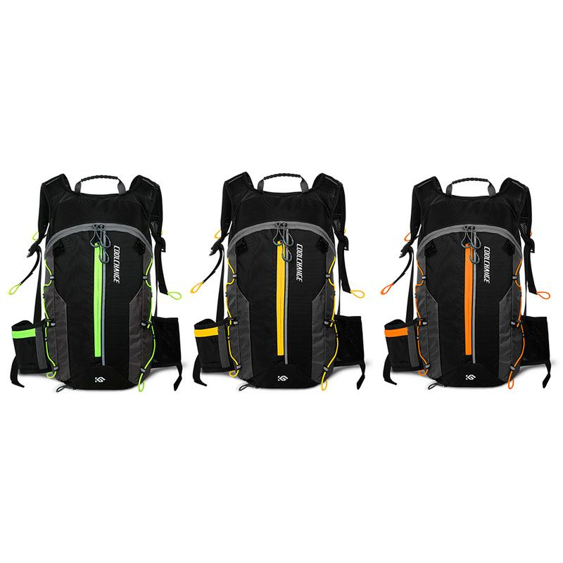 Mochila de bicicleta de montaña bolso impermeable al aire libre agua bolsos de hombro hombres y mujeres bicicleta de carretera equipo 10L montar mochila