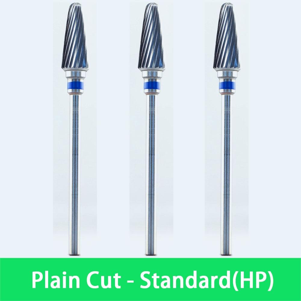 Dental Laboratory Cutter Burs -  3pcs/lot  Tungsten Carbide Burs   2.35mm Shank Size  -  8090140