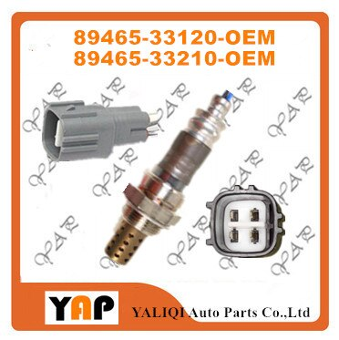 Oxygen Sensor FOR FIT TOYOTALEXUS CAMRY ES300 SOLARA MCV2# SXV2# ACV20 1MZFE REAR 89465-33120 89465-33210 89465-33230 1996-2001