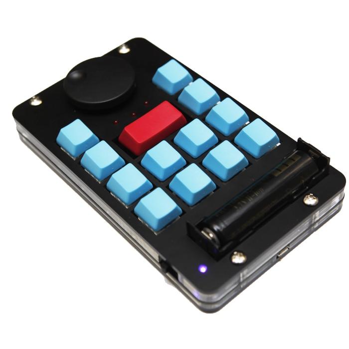 Беспроводная Bluetooth Нелинейная клавиатура для редактирования видео горячая клавиша PR FCPX EDIUS мини-клавиатура