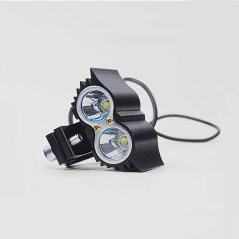 2pcs Motorcycle Headlight led Owl 3LED 2LED Lamp Motorbike Head Lights 12V 20W 1200LM Autocycle lamp bulb super bright light