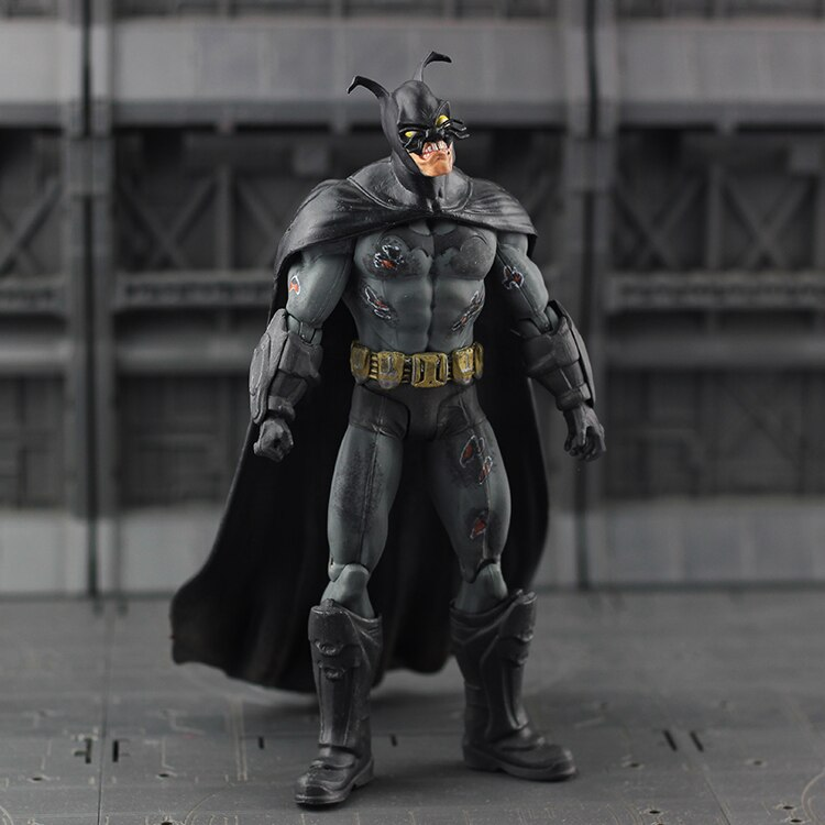 DC Direct Collectibles Black Lantern Batman Figure Zombie Blackest NIght