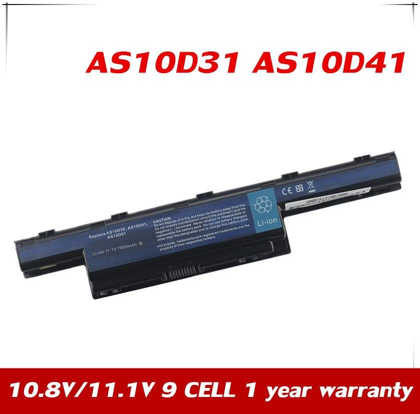 7XINbox 11,1 V batería para Acer Aspire 4741 4741ZG 5251 5551G NEW75...