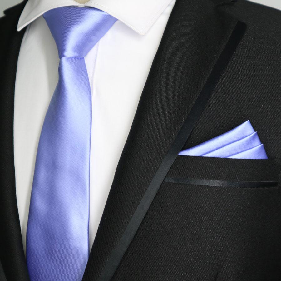 21 kleur 7CM Skinny mannen Polyester Zijde Banden Pochet Set Solid Plain Smalle Stropdas Hanky Sets Man wedding Bedrijvengids Party