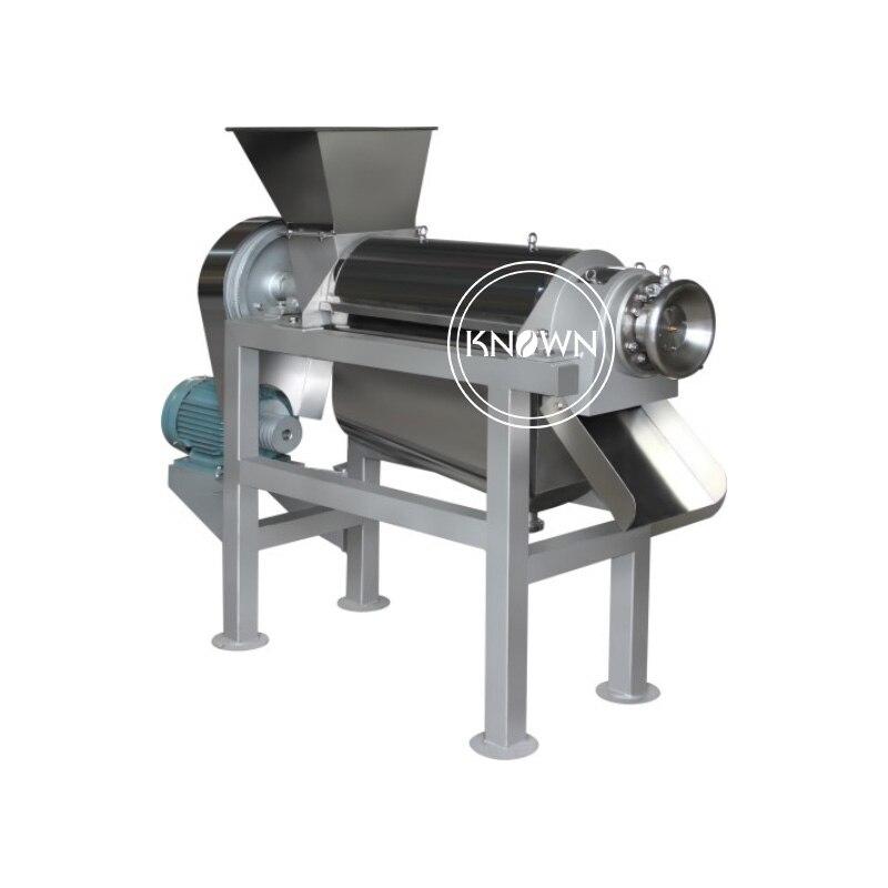 Extractor de jugo de zanahoria comercial automático 0,5 t/h