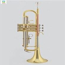 JBTR-601 Original professionnel Trompet Tromba or laque embout Instruments de musique trompete