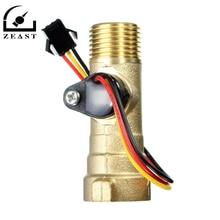 Accessoires de chauffe-eau capteur de débit électronique débitmètre électronique 1-30L/M pour chauffe-eau solaire