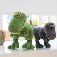 40 100cm new dinosaur plush kawaii toys cartoon tyrannosaurus cute stuffed toy dolls for kids children boys birthday gifts