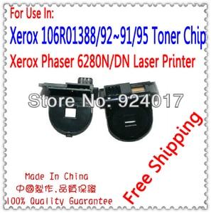For Xerox 106R01403 106R01402 106R01401 106R01400 Color Toner Cartridge Chip,For Xerox 6280 6280n 6280dn Refill Toner Chip,7K
