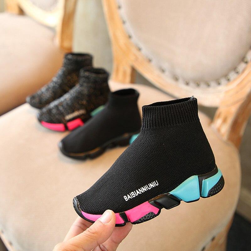 Новинка весны 2019, уличная детская обувь, дышащая обувь на плоской подошве для мальчиков и девочек, школьная Нескользящая сетчатая Повседневная Тканевая обувь, кроссовки для детей 1-15 лет