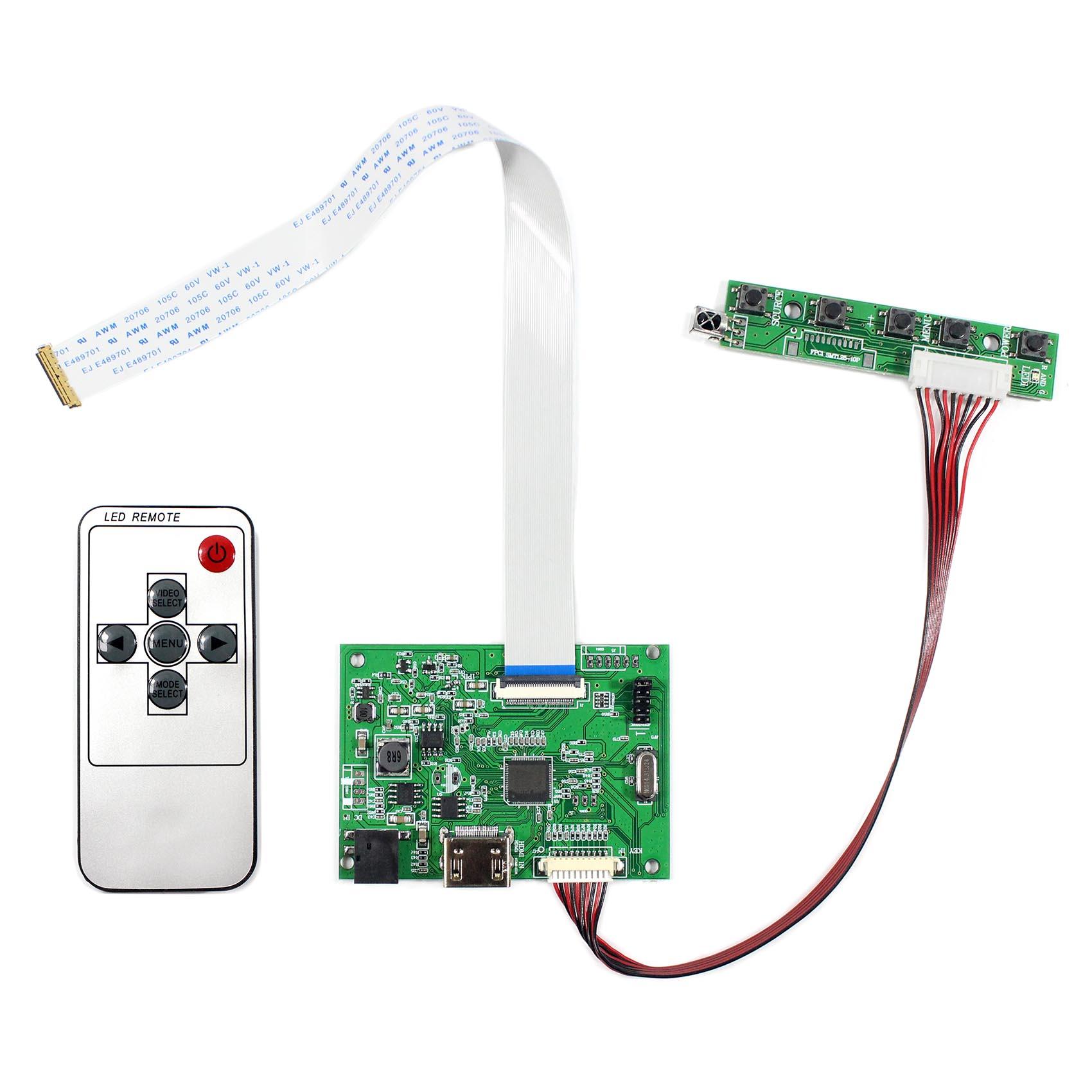 HDMI ЖК-контроллер плата работает для 11,6 13,3 14 15,6 17,3 1920x1080 30pin экран EDP: N116HSE N133HSE B140HAN01 B156HAN01