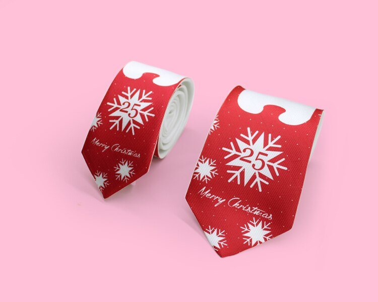New Free Shipping fashion Men's male 2019 printed neck tie unique British Fan Groom Dress Casual Tie Winter Bear red 8cm 6cm
