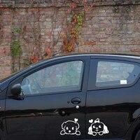 aliauto cartoon dog car cover side door whole body car sticker decal for skoda honda hyundai kia skoda volkswagen skoda cruze