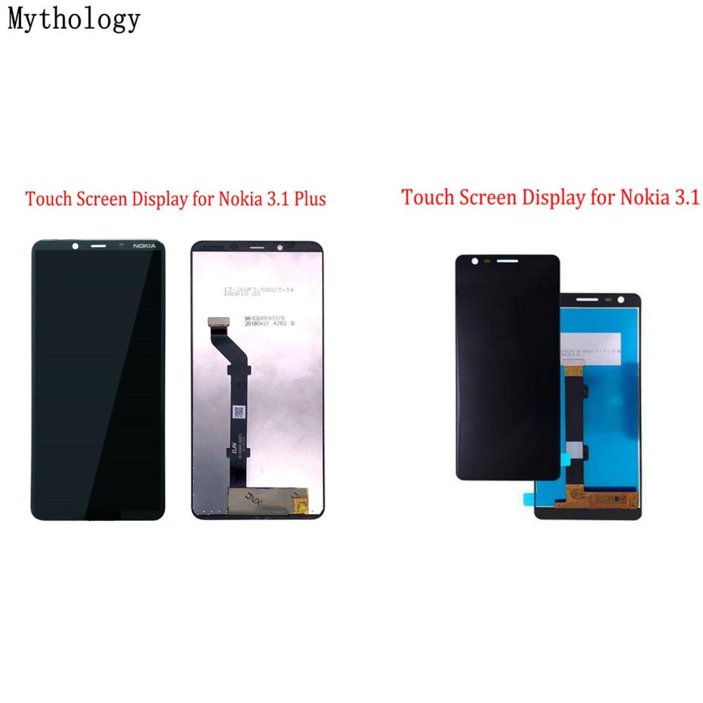 Mythology For Nokia 3.1 Plus & Nokia 3.1 Display Touch Screen Digitizer Replacement Mobile Phone LCD