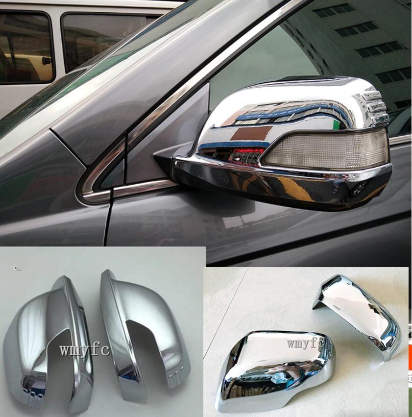 ABS Chrom Tür Seite Rückspiegel Abdeckung Trim Aufkleber Zubehör Auto Styling Modell Für Honda CR-V CRV 2007 2008 2009 2010 2011