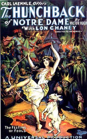 1923 The Hunchback of Notre Dame Best Old Classic Movie Film ретро, ВИНТАЖНЫЙ ПЛАКАТ, холст, сделай сам, настенная бумага, домашний декор, подарок