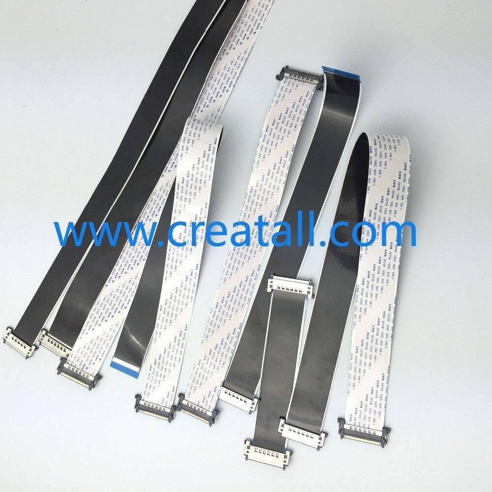 12 piezas x 4 K HD Panel común Universal Cable FFC para retroiluminación TV pantalla de Monitor de 51pin 41pin Longitud del Cable 300mm