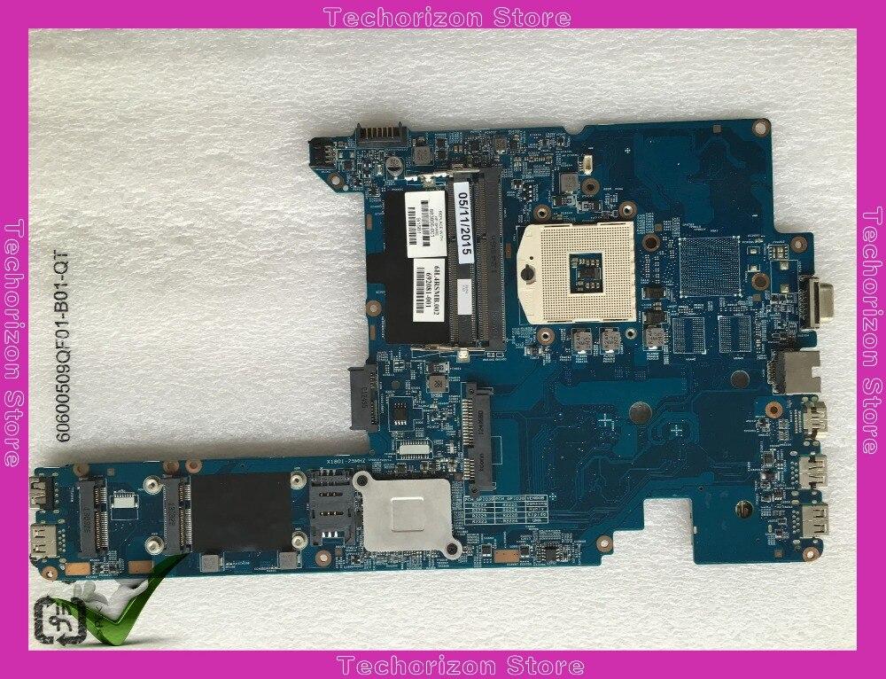Placa base 683856-001 para ordenador portátil HP Probook 4340S placa base 48.4RS01.011 PGA989 DDR3 probado en funcionamiento