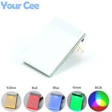 5 stücke 5 farbe * 1 HTTM Serie Kapazitiven Touch Schalter Taste LED Sensor Modul DIY Elektronische Gelb Grün Rot blau RGB Farbe