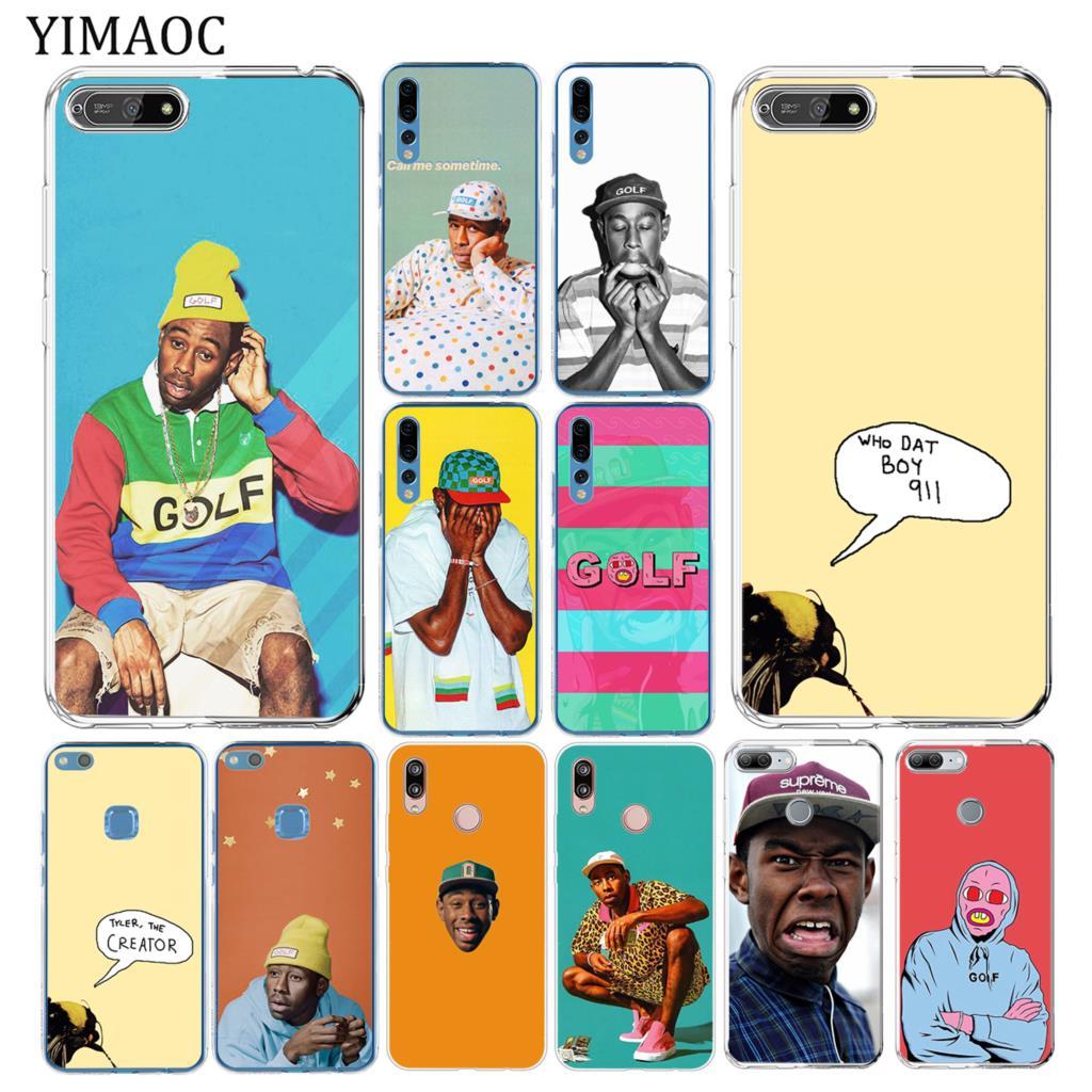 YIMAOC – coque de téléphone portable en Silicone souple, compatible avec Huawei Y7 Y6 Y9 Prime 2018 Honor 20 10 8 8C 8X 9X 9 Lite 7X 7C 7A Pro
