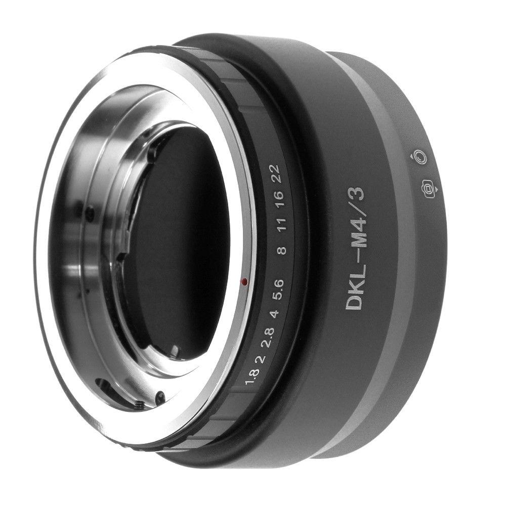 Anillo adaptador Fotga DKL-M4/3 para lente Deckel a Micro cuatro terceros M4/3 Cámara GH3/4/5 EM1/M/M10/EP5/EPL3/PL5/PL6/PL7
