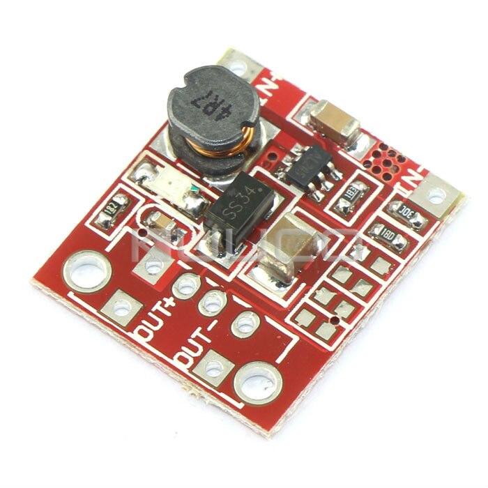 Módulo de fuente de alimentación DC 2,5 V ~ 6V a 4 ~ 12V 1A convertidor de impulso/regulador de voltaje/Adaptador/módulo de controlador/cargador DIY