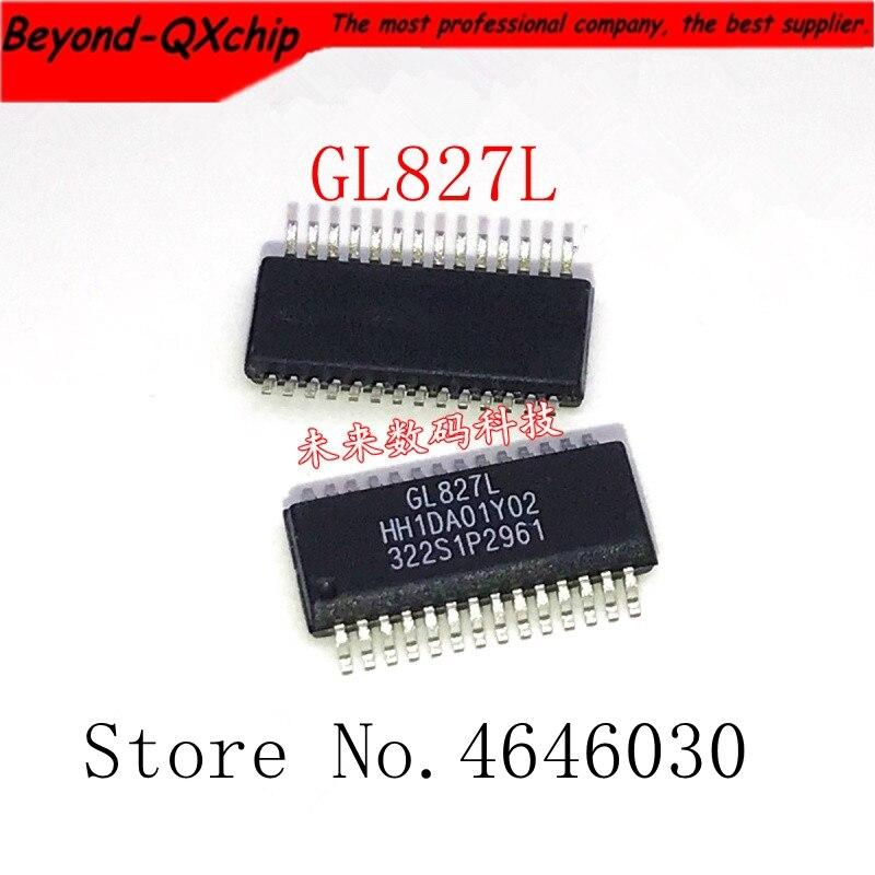 Gratis Schip 10Pcs Genesys Gl GL827L-HHGXX GL827L SSOP28 Ssop 28Pin 100% Nieuwe Originele