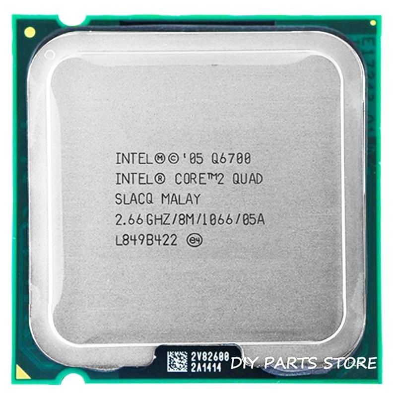4 core INTEL Core 2 Quad-core Q6700 procesador de CPU 2,66 Ghz/8 M/1066 MHz) Socket LGA 775