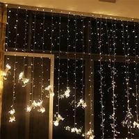 free shipping outdoor waterproof 33m 300led led curtain icicle string light led light lighting wedding christmas holiday window