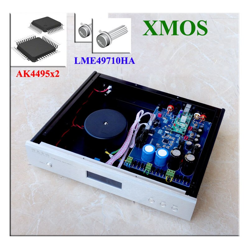 Amplificador DAC de decodificador de placa Dual paralela AK4495