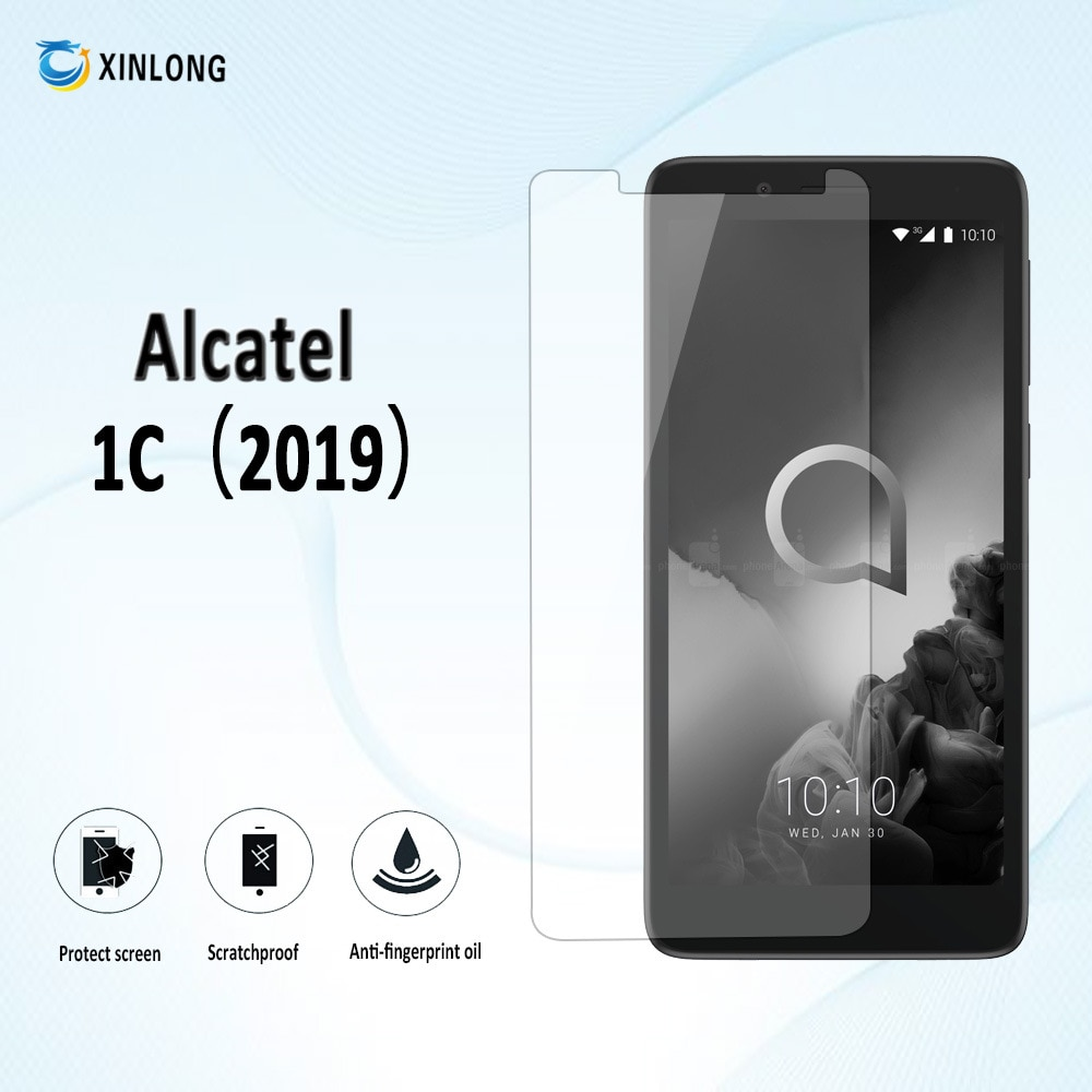 For Alcatel 1C 2019 5003D Alkatel Alcatel1C 2019 5003 D 5.0 Screen Premium Tempered Glass Anti Shatter Toughened Protector Film