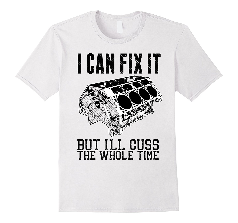 Gran oferta de 2019, camiseta con motor V8, mecánica, divertida, pero la Repararé, a la moda