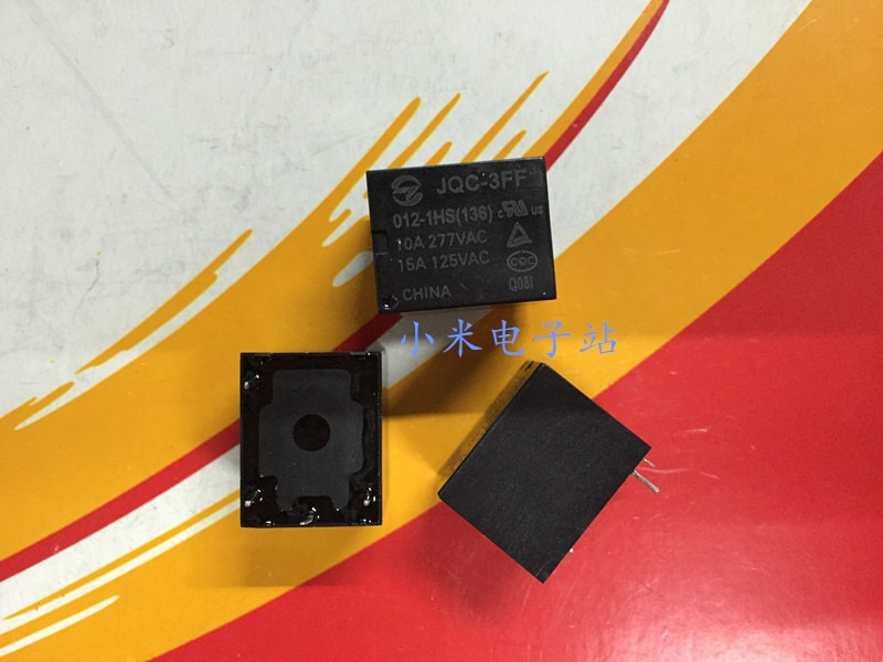 JQC-3FF 012-1HS (136) 4 pie T73 SRD-12VDC-SL-A