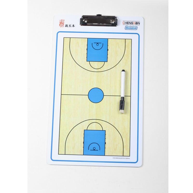 Basketball Coaching Board match Coach plate set with Pen Basketbal coach Tactical plate Wholesale недорого