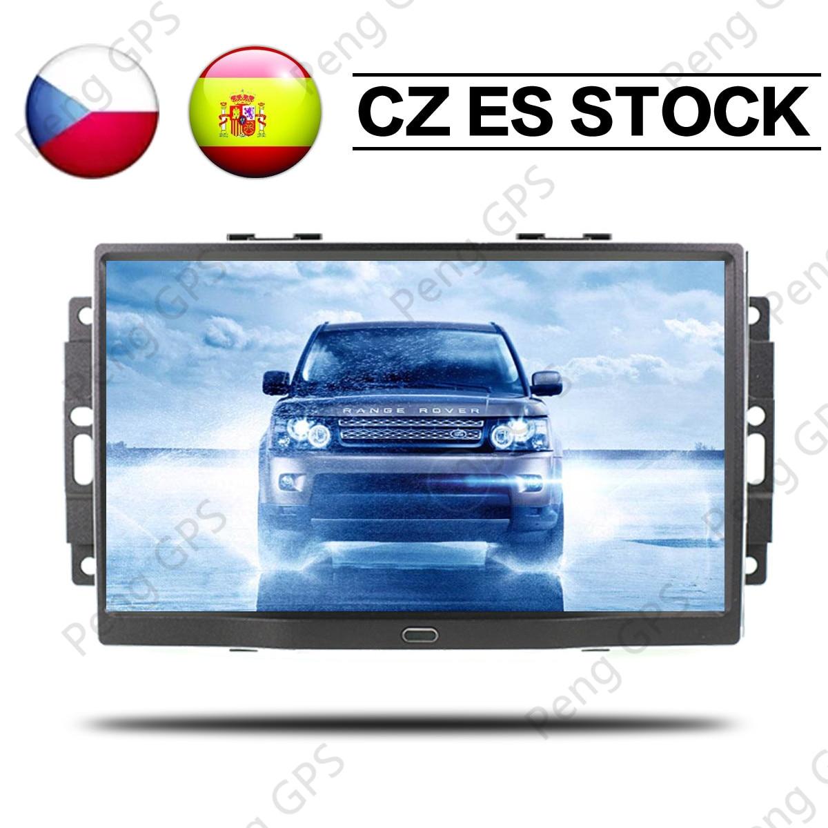 Radio de navegación GPS estéreo para coche Android 8,1 de 9 con 8 núcleos para Jeep Grand Cherokee Patriot Dodge Charger Chrysler 300C, reproductor de DVD