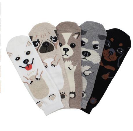 10pair Pets Crew Socks Ankle Short Puppy Doberman Corgi Dachshund Sausage Dog Pug Doge Papillon Cute Collie Husky Schnauzer