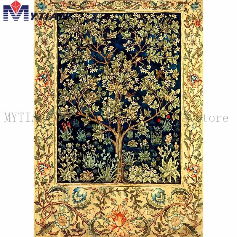 MYTIAN 5D diy Diamond Painting Money Tree Diamond Embroidery Cross Stitch Home Decor Full Square/Round Drill Mosaic Painting