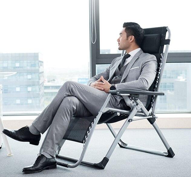 Современное удобное кресло качалка с сеткой для полных мужчин/женщин