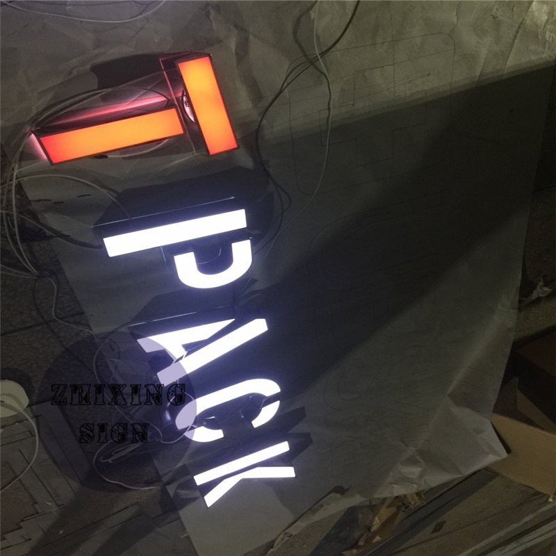 Factory Outlet Outdoor waterproof high birghtness acrylic led letters, illuminated led channel letters
