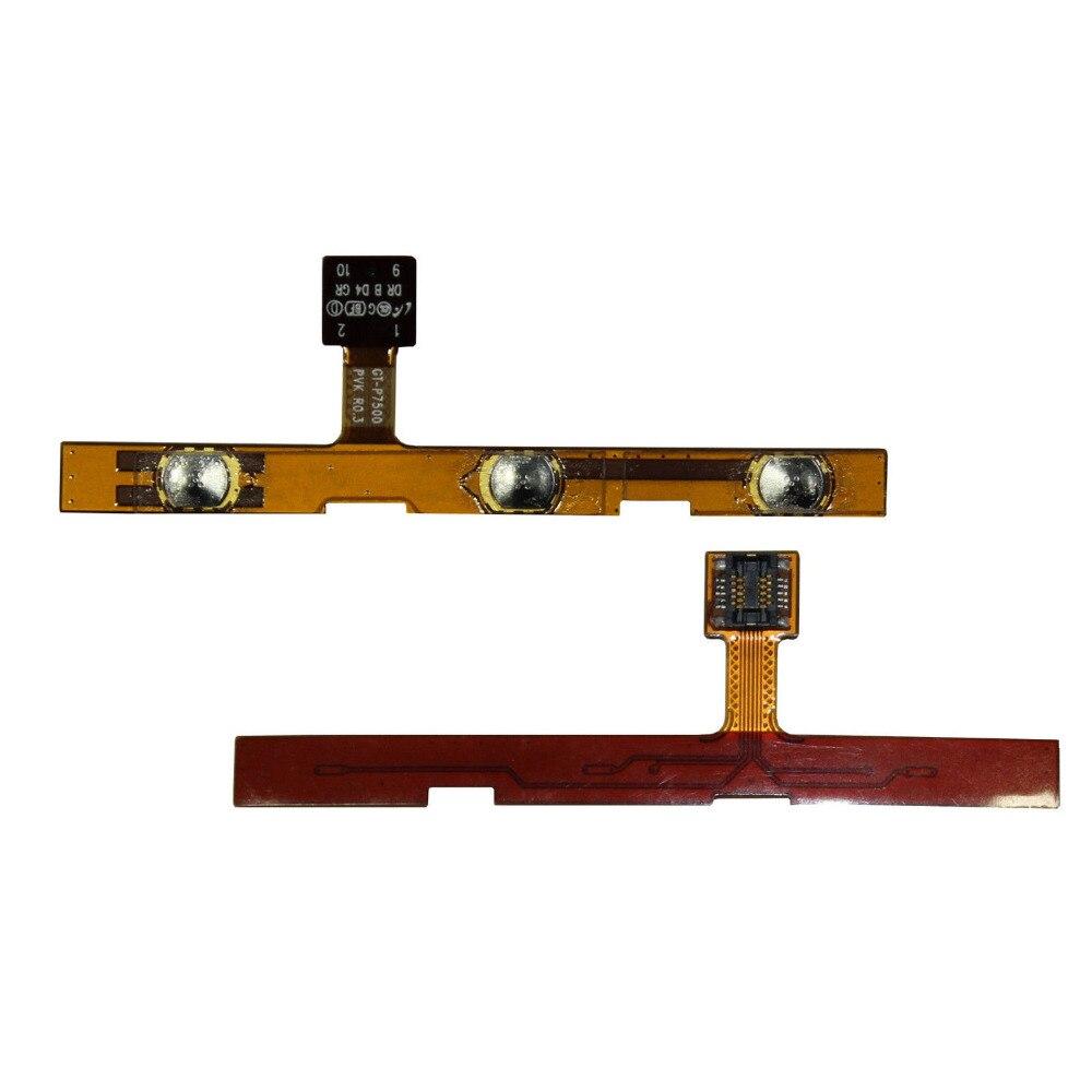 Para Samsung Galaxy Tab 10,1 GT-P7500 P7510 Cable de Tecla lateral Flexible de tecla de botón de encendido y volumen