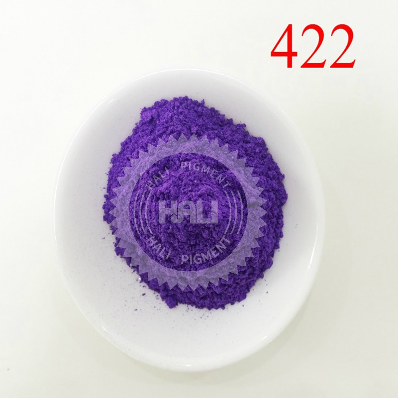 Pigmento de perla, pigmento nacarado, polvo de perla, pigmento de Mica, color índigo mágico, artículo 422, Peso neto 20 gramos, envío gratis.