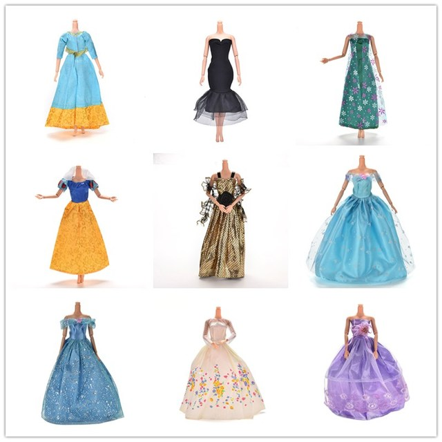 11.11 Sale Princess Doll Dress Noble Party Gown Fashion Design Outfit Best Gift For  Doll For Girl' Doll Accessories