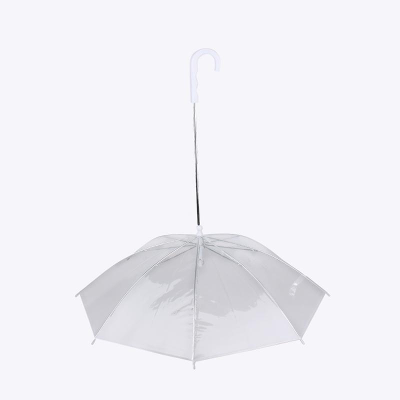 Läbipaistev vihmavari koera jaoks