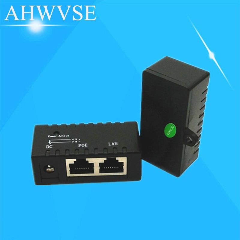 10/100Mbp Pasif POE DC Güç Over Ethernet RJ45 POE enjektörü Splitter Için Duvar Montaj Adaptörü IP Kamera AP LAN ağ