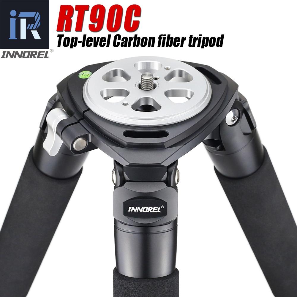 INNOREL RT90C(LT404C) المهنية الثقيلة كاميرا ترايبود فائقة مستقرة أعلى مستوى الطيور حامل كاميرا 40 مللي متر الساق أنبوب