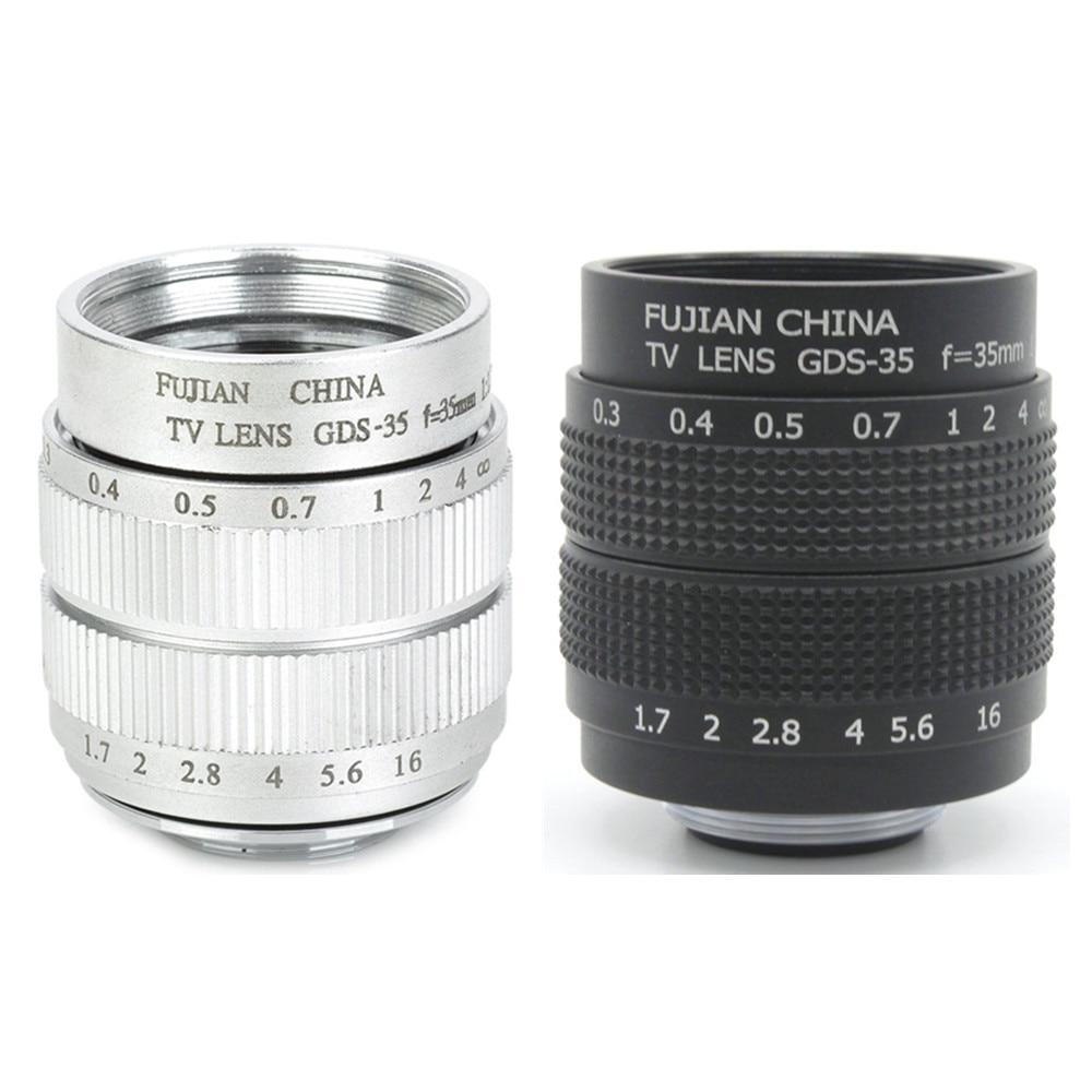 Nuevo anillo de montaje de lente CCTV 35mm f1.7 para Canon EOS M M2 M3 M5 M6 M10
