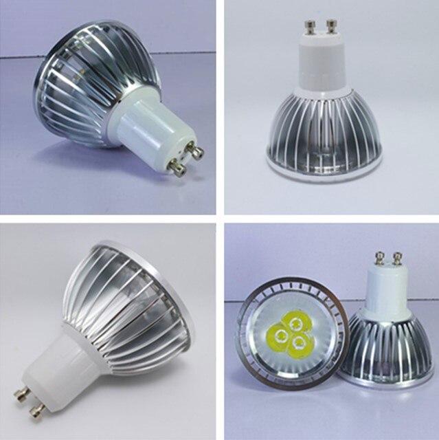 Bombilla Led PAR20 de alta potencia, regulable E27 GU10 9W 12W 15W 110-240V, foco de luz PAR 20