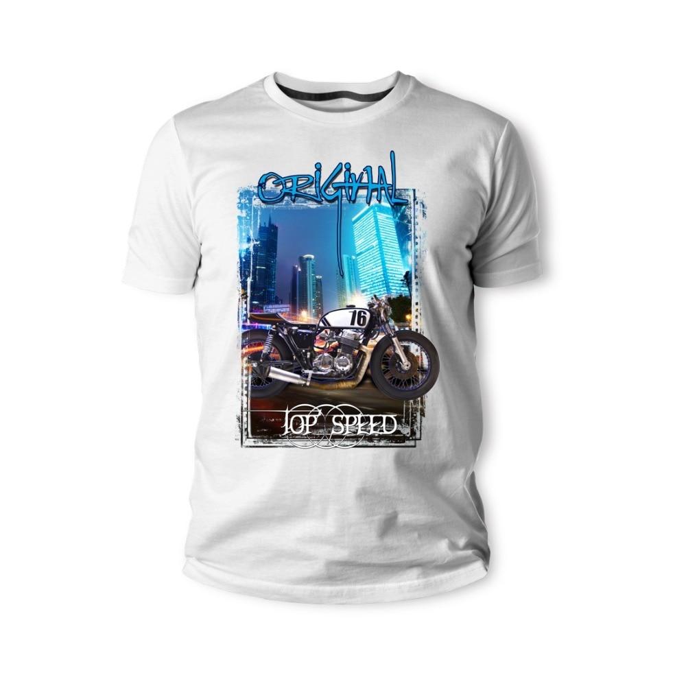 Camiseta clásica japonesa para fanáticos de la motocicleta Cb750 1976 Motorrad Cb500F Ctx1300 camisetas para hombres 2019 moda manga corta negra